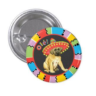 Fiesta Mastiff 3 Cm Round Badge