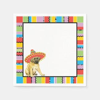 Fiesta Mastiff Paper Napkin