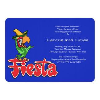 Fiesta Parrot Invitation