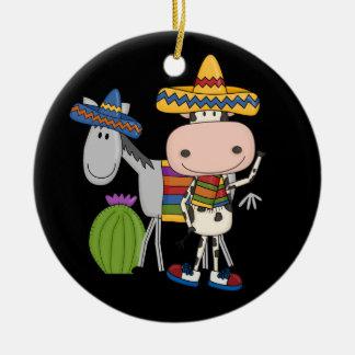 Fiesta - Partido ! Ceramic Ornament