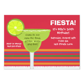 Fiesta Party Invitation w/matching Envelopes