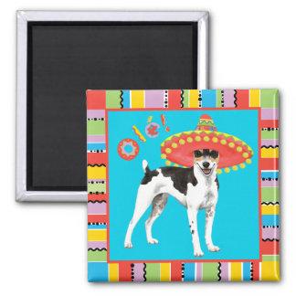 Fiesta Rat Terrier Magnet