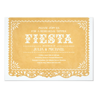 Fiesta Rehearsal Dinner Invitations
