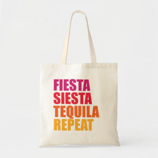 Fiesta, Siesta,Tequila Bachelorette Vacation Tote Bag