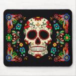 Fiesta Skull Mouse Pad