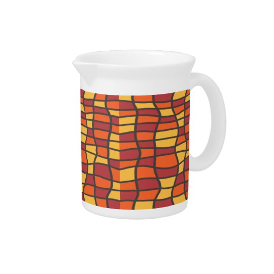 Fiesta Stained Glass Pitcher