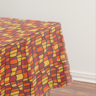Fiesta Stained Glass Tablecloth