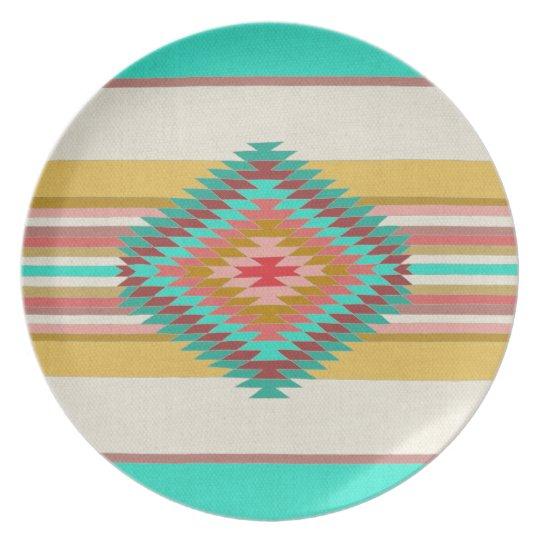 Fiesta Teal Plate