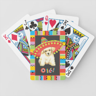 Fiesta Toy Poodle Bicycle Playing Cards