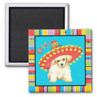 Fiesta Toy Poodle Magnet