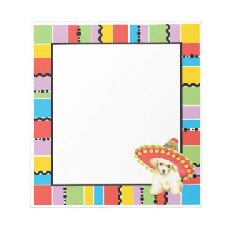 Fiesta Toy Poodle Notepad