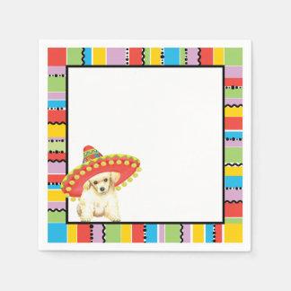 Fiesta Toy Poodle Paper Napkins