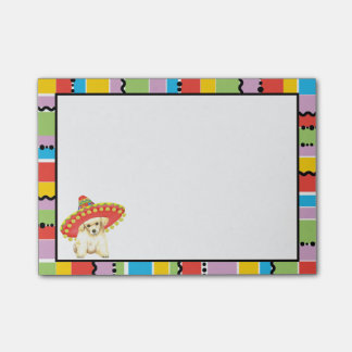 Fiesta Toy Poodle Post-it® Notes