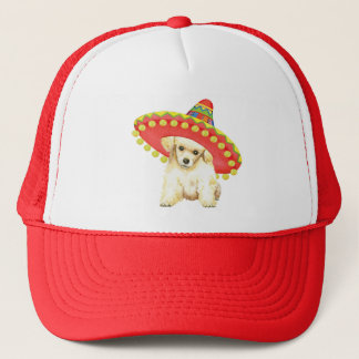 Fiesta Toy Poodle Trucker Hat