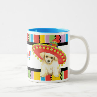 Fiesta Toy Poodle Two-Tone Coffee Mug
