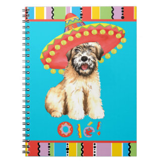 Fiesta Wheaten Spiral Notebook