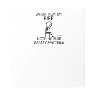 Fife Nothing Else Matters Note Pads