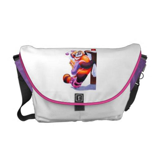 Fifi Firefox Medium Diaper Bag Courier Bag