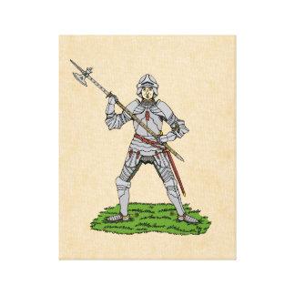 Fifteenth Century English Knight Canvas Print