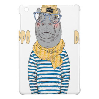 Fifteenth February - Hippo Day - Appreciation Day Case For The iPad Mini