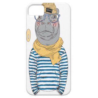 Fifteenth February - Hippo Day - Appreciation Day iPhone 5 Cover