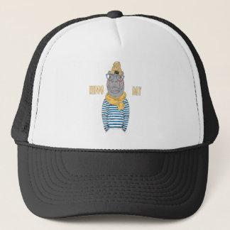 Fifteenth February - Hippo Day - Appreciation Day Trucker Hat