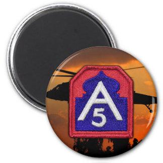 Fifth 5th army Fort Sam Houston  vet veterans Magnet