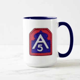 Fifth 5th army fort sam houston veterans vets mug