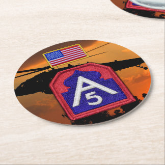 Fifth 5th army sam houston veterans vets coasters