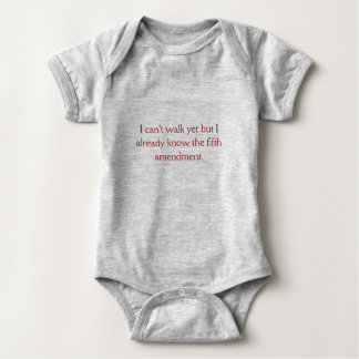 Fifth Amendment Baby Bodysuit