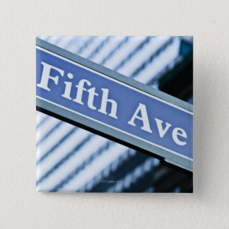 Fifth Avenue 15 Cm Square Badge
