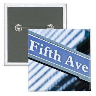 Fifth Avenue 15 Cm Square Badge