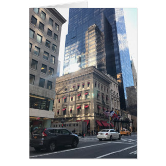 Fifth Avenue New York City NYC Department Store Card