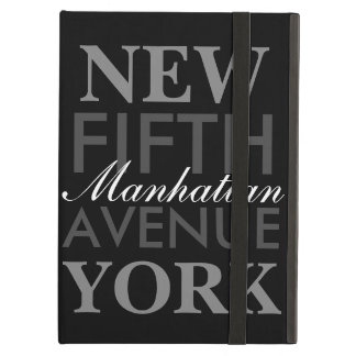 Fifth Avenue New York iPad Air Cover