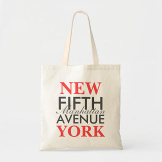 Fifth Avenue New York Tote Bag