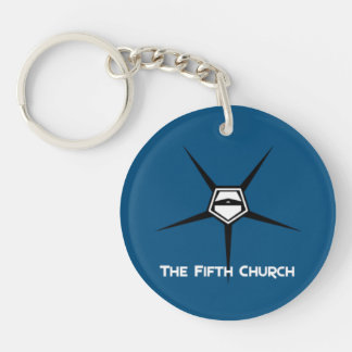 Fifth church keyholder [SCP Foundation] Key Ring