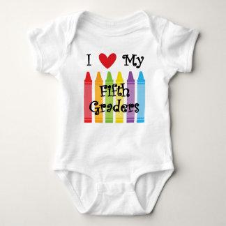 Fifth grade teacher2 baby bodysuit