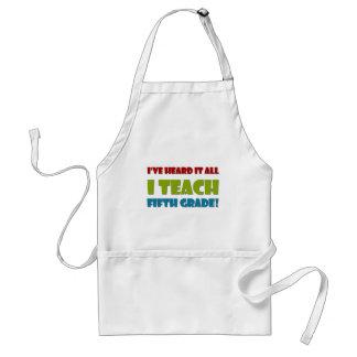 Fifth Grade Teacher Standard Apron