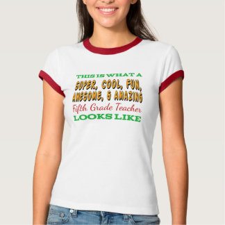 Fifth Grade Teacher | Awesome 5th Grade Teacher T-Shirt