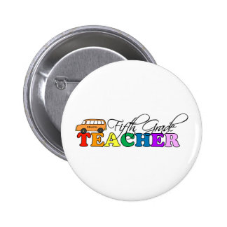 Fifth Grade Teacher Pins