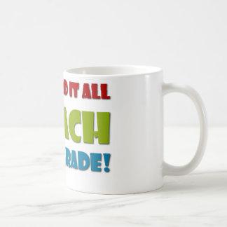 Fifth Grade Teacher Basic White Mug