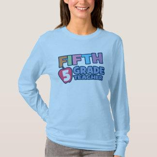 Fifth Grade Teacher Ladies Long Sleeve T-Shirt