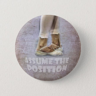 Fifth Position in Ballet 6 Cm Round Badge