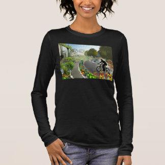 Fifth Sacred Biking in 2048 w. Spiral Long Sleeve T-Shirt