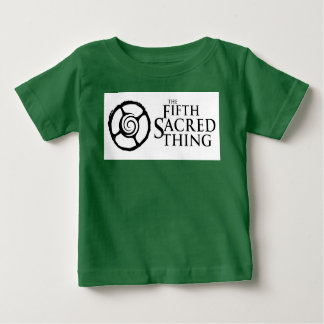 Fifth Sacred Logo with Back Quote Baby T-Shirt