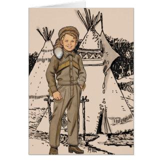 Fifties Daniel Boone Card
