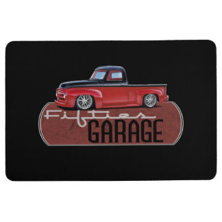 Fifties Garage Floor Mat