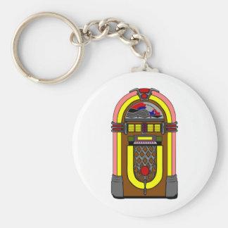 Fifties Jukebox Key Ring