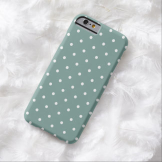 Fifties Style Blue Polka Dot iPhone 6 case