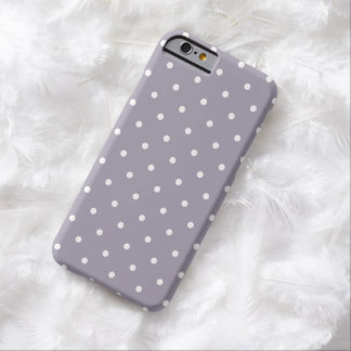 Fifties Style Purple Polka Dot iPhone 6 case Barely There iPhone 6 Case